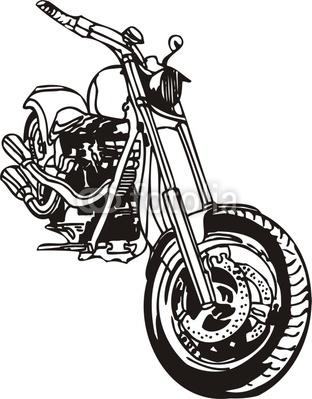Cliparts Motorrad