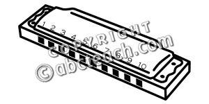 clip art harmonica b w clipart panda free clipart images rh clipartpanda com