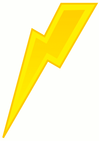 Harry Potter Lightning Bolt Outline | Clipart Panda - Free ...