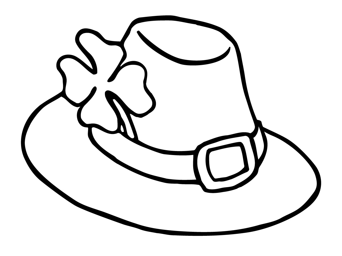 Line Drawing Hat : Hat clip art black and white clipart panda free