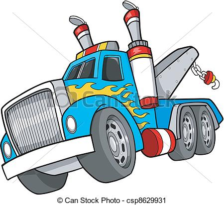 Vector Clip Art Of Tow Truck Clipart Panda Free Clipart Images