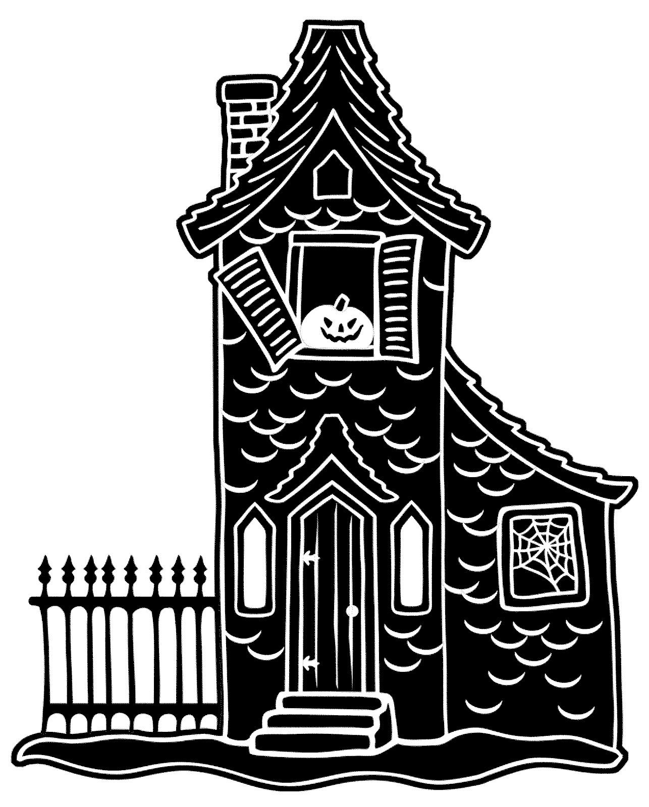 haunted house clip art black and white clipart panda free rh clipartpanda com Coloring Pictures of Haunted Houses Clip Art Coloring Pictures of Haunted Houses Clip Art