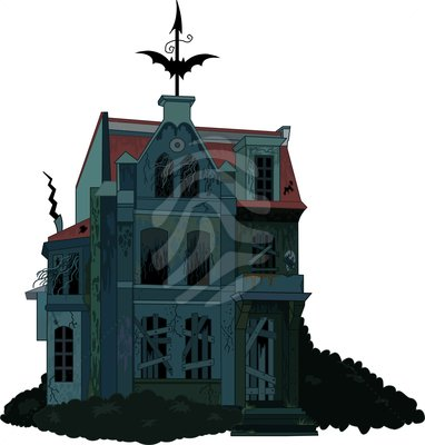 Haunted House Clip Art Images | Clipart Panda - Free ...