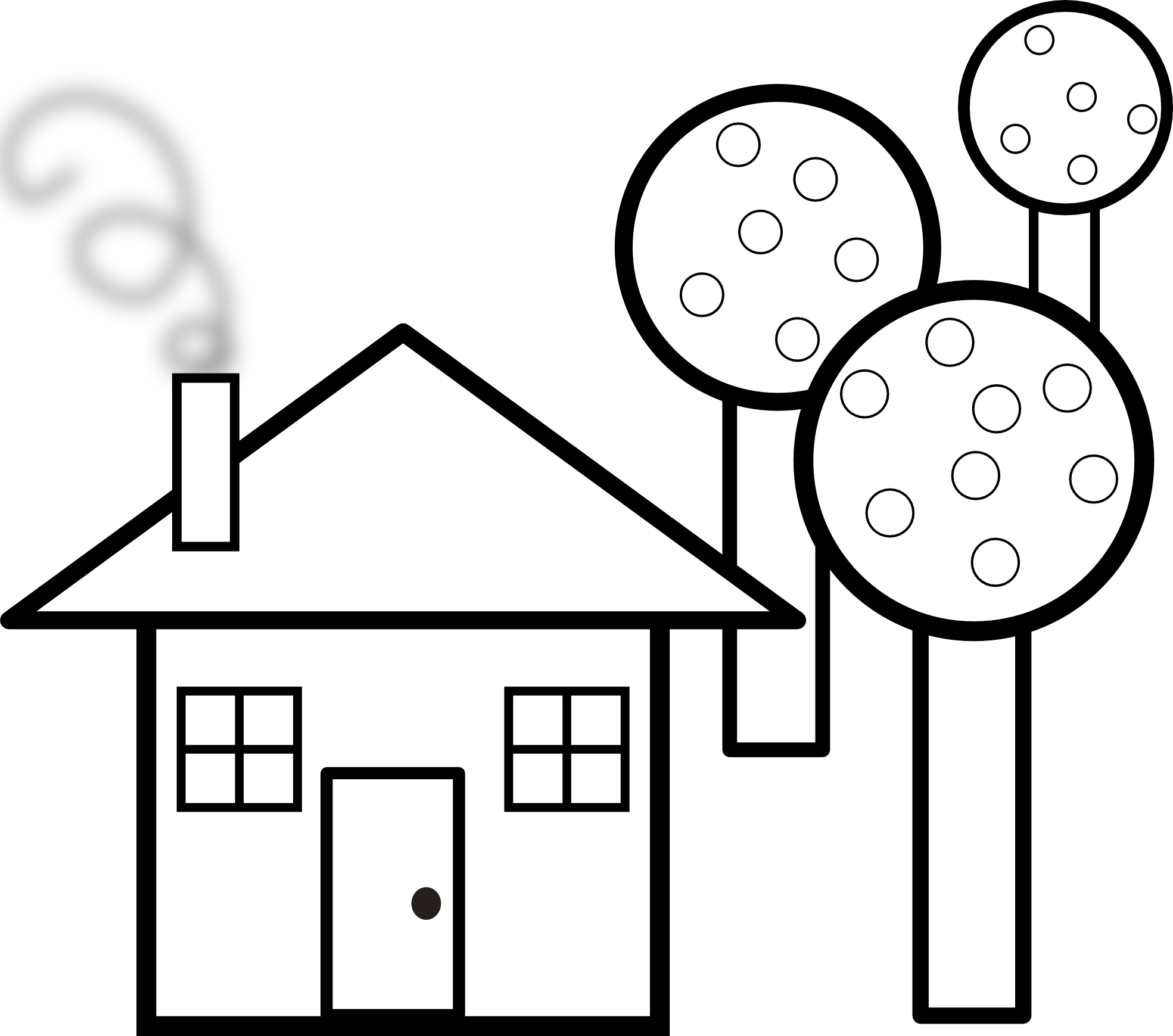 haunted%20house%20clipart%20black%20and%20white