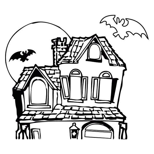 haunted20house20coloring20page