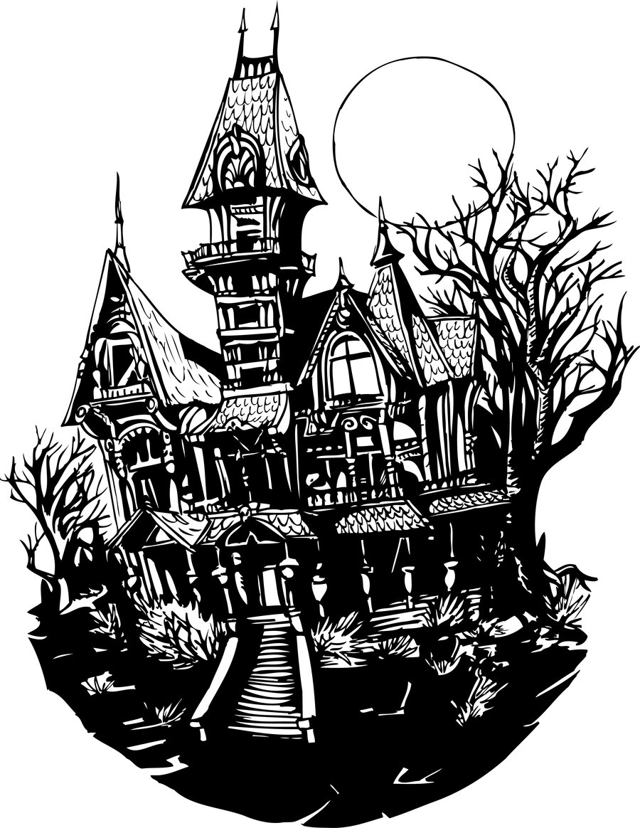 Mansion Drawing: Clipart Panda - Free Clipart Images