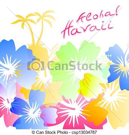 Hawaiian Clip Art Backgrounds