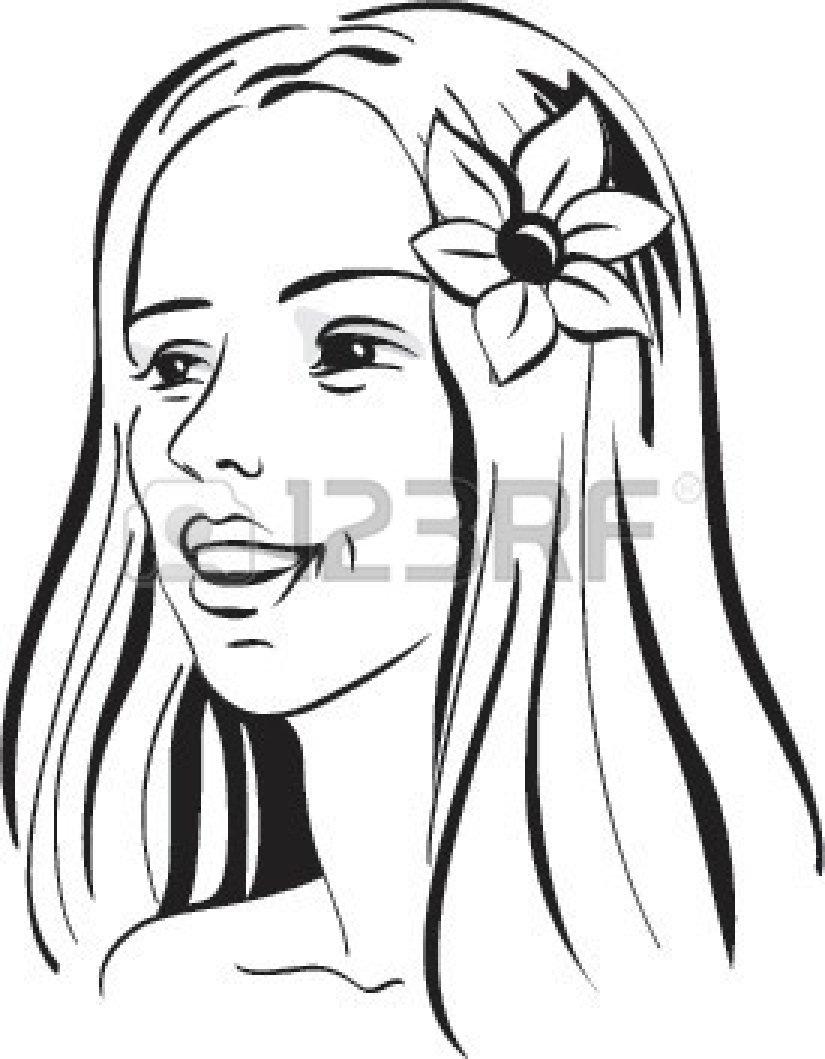 Hawaiian flower clip art black and white clipart panda free hawaiian20clip20art20black20and20white izmirmasajfo