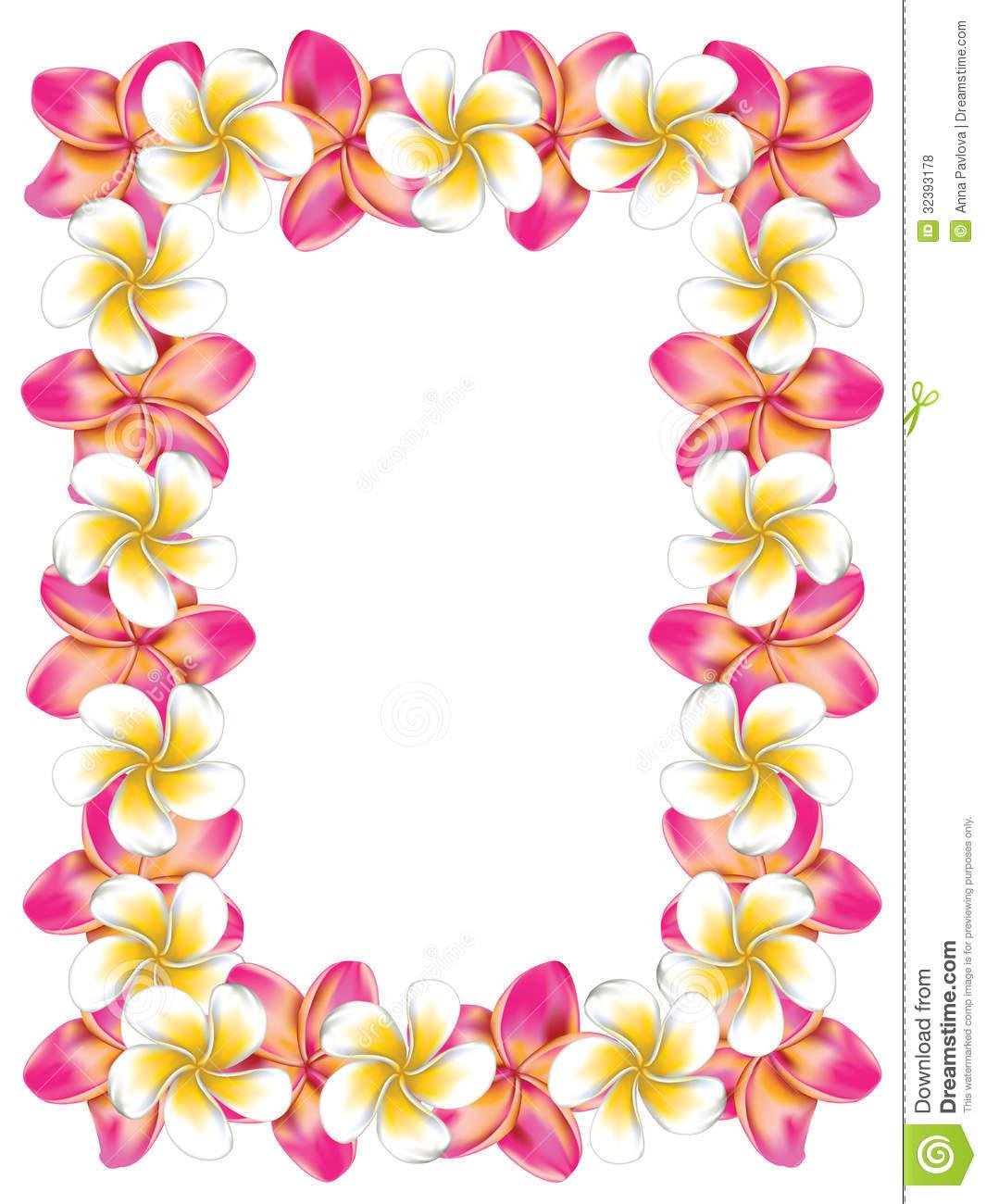 Hawaiian flower clip art borders clipart panda free clipart images hawaiian20clip20art20borders izmirmasajfo