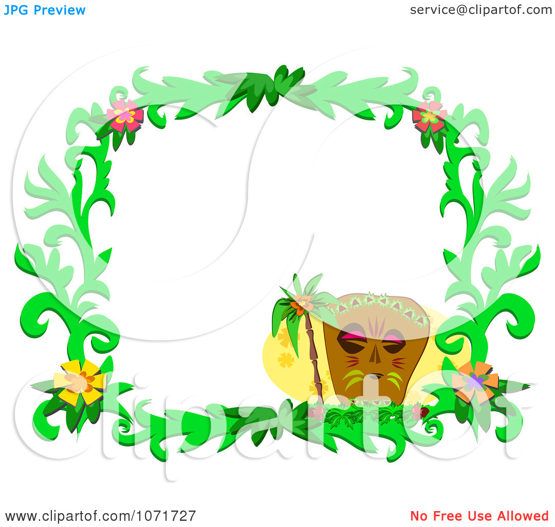 Clipart Tiki Hibiscus Flower Clipart Panda Free Clipart Images