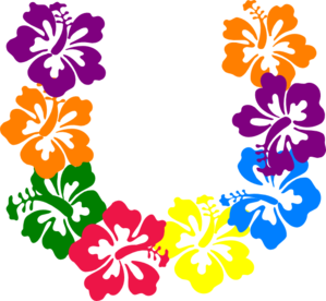 hawaiian flower clip art borders clipart panda free clipart images rh clipartpanda com blue hawaiian flower clipart hawaiian flower lei clip art