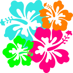hawaiian flower clip art clipart panda free clipart images rh clipartpanda com hawaiian flowers border clipart Hawaiian Flower Backgrounds