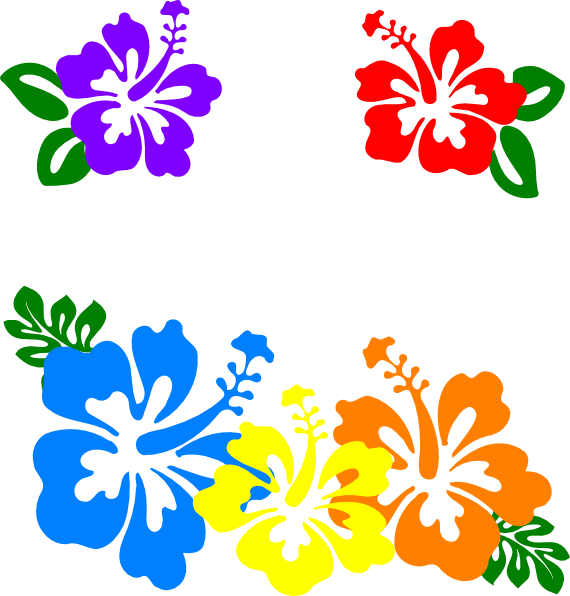 hawaiian%20flower%20clip%20art%20borders