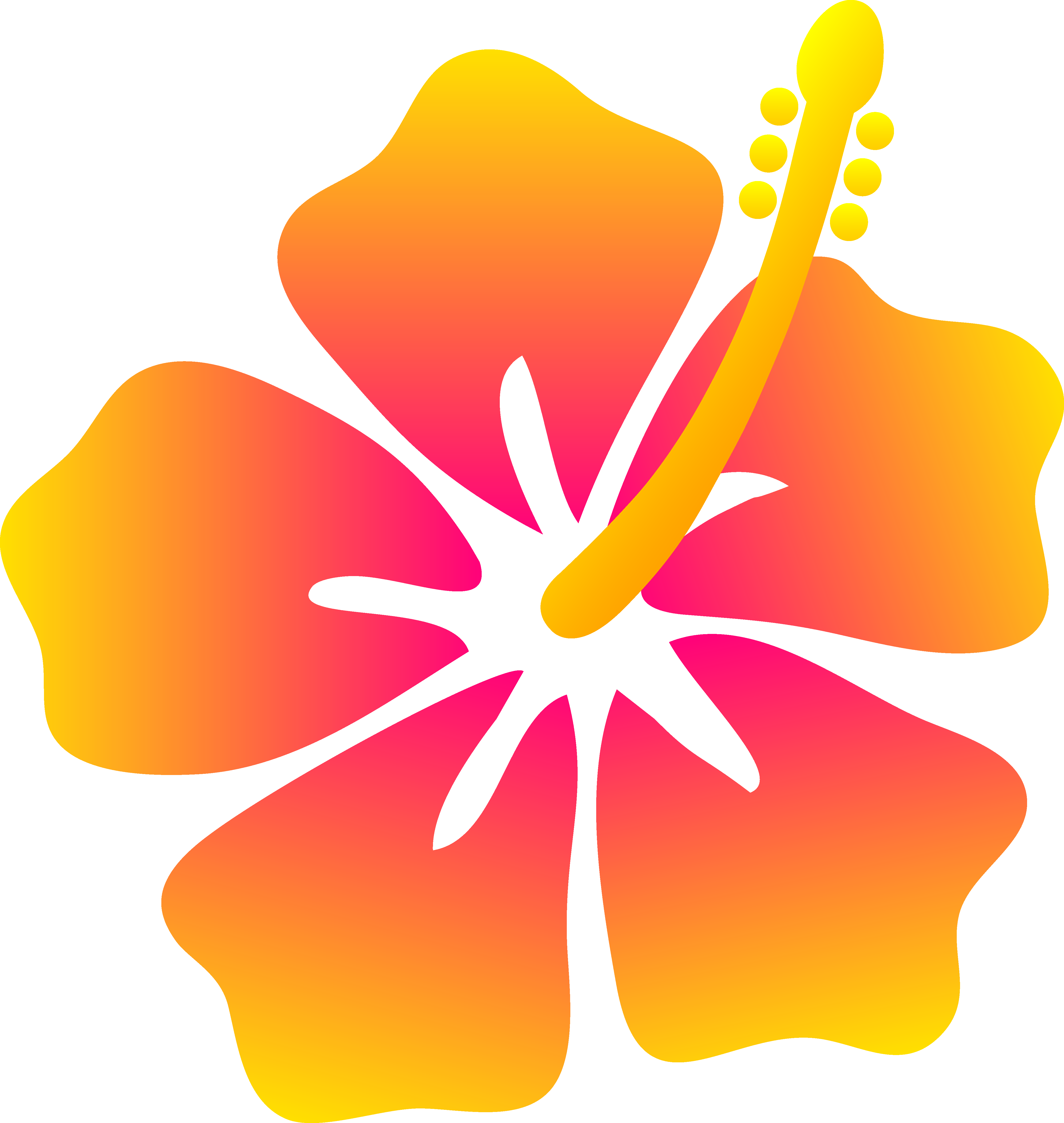 Hawaiian Flowers Clip Art | Clipart Panda - Free Clipart ...
