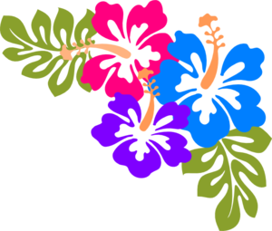 Traditional Hawaiian Lei Clip Art