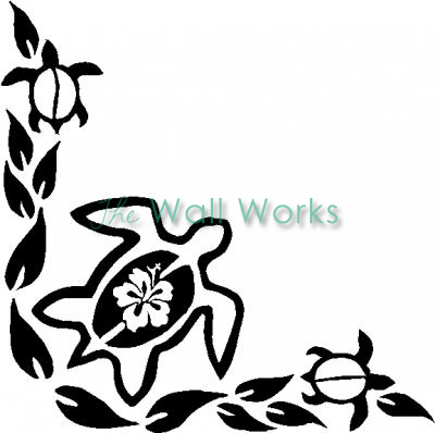 Hawaiian Turtle Flower Clipart Panda Free Clipart Images