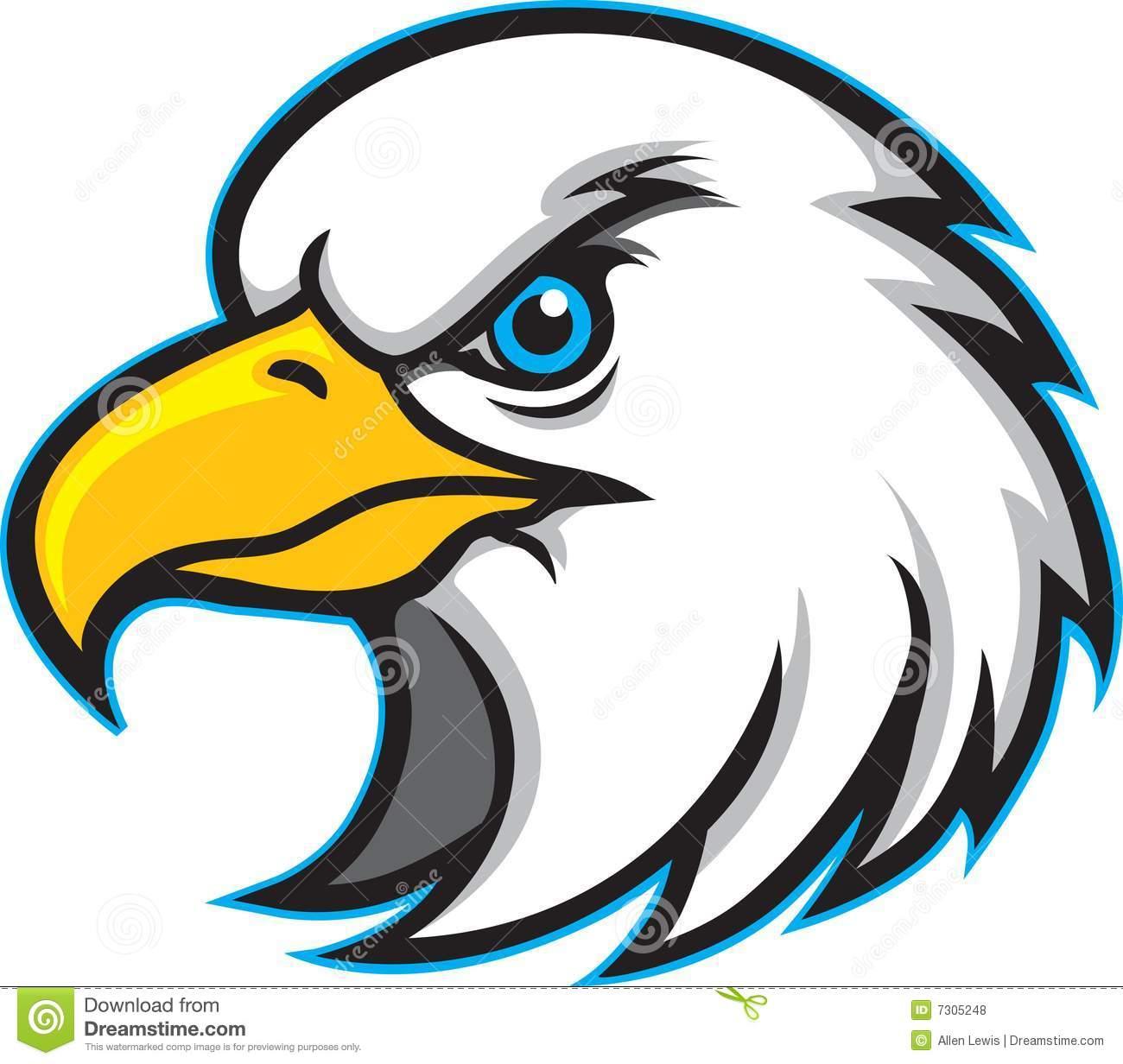 Eagle Head Mascot Clipart | Clipart Panda Free Clipart Images