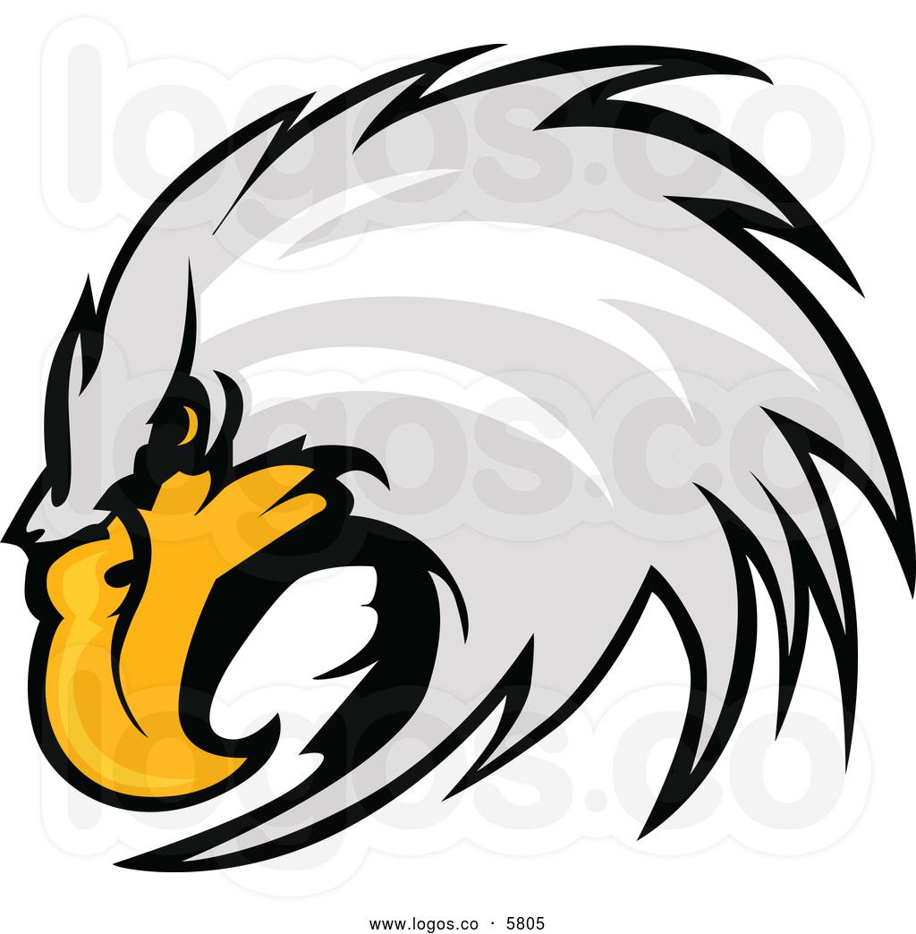 hawk 20head 20clipart  Eagle Head Vector