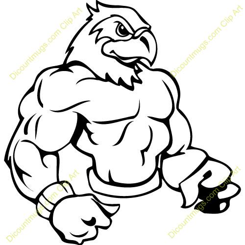Hawk Mascot Clipart | Clipart Panda - Free Clipart Images