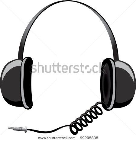 Cord Headphone Clip Art – Clipart Download