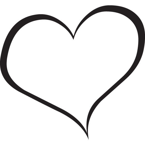 Clipart Heart Black And White | Clipart Panda - Free Clipart Images