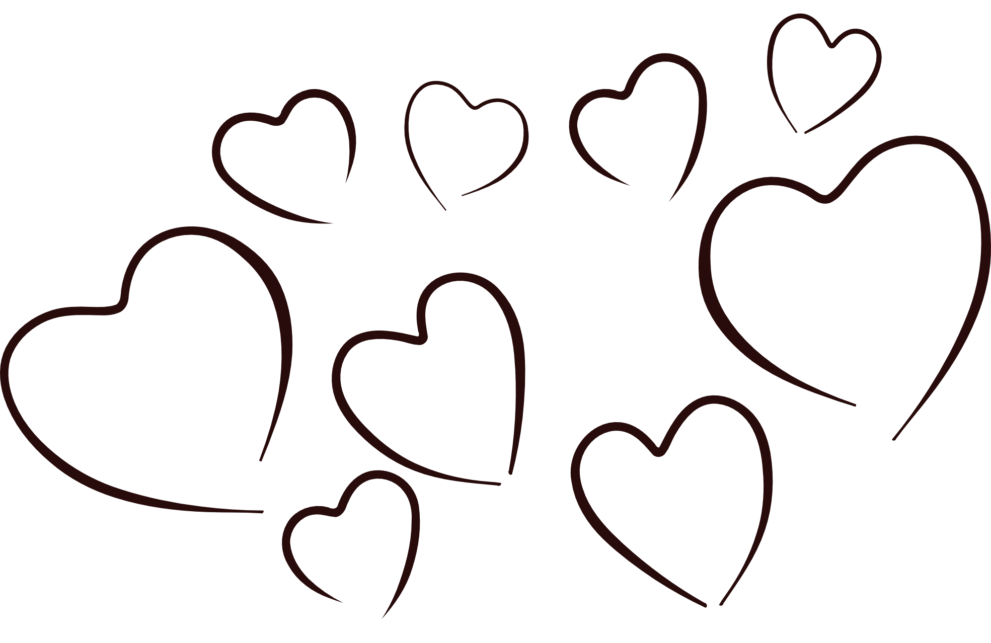 Line Art Heart Outline : Clip art heart black and white clipart panda free