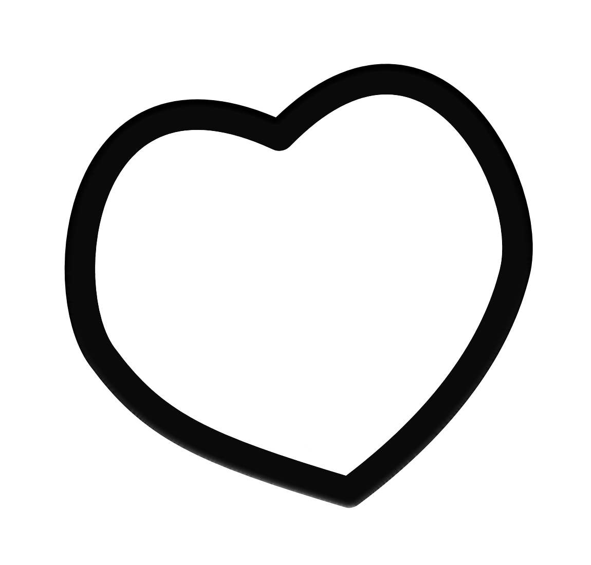 Heart Frame Clip Art Black And White | Clipart Panda - Free Clipart ...
