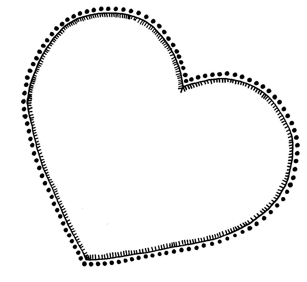 Line Art Heart Outline : Clip art heart outline clipart panda free images