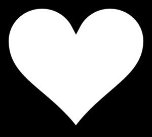 Clip Art Heart Outline Clipart heart outline clipart black and white panda free