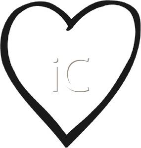 heart%20outline%20clipart%20black%20and%20white
