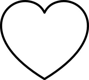 Heart Outline Black And White | Clipart Panda - Free ...
