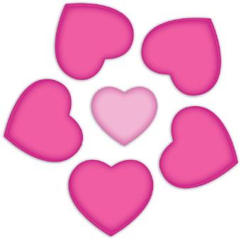Clip Art Pink Heart | Clipart Panda - Free Clipart Images
