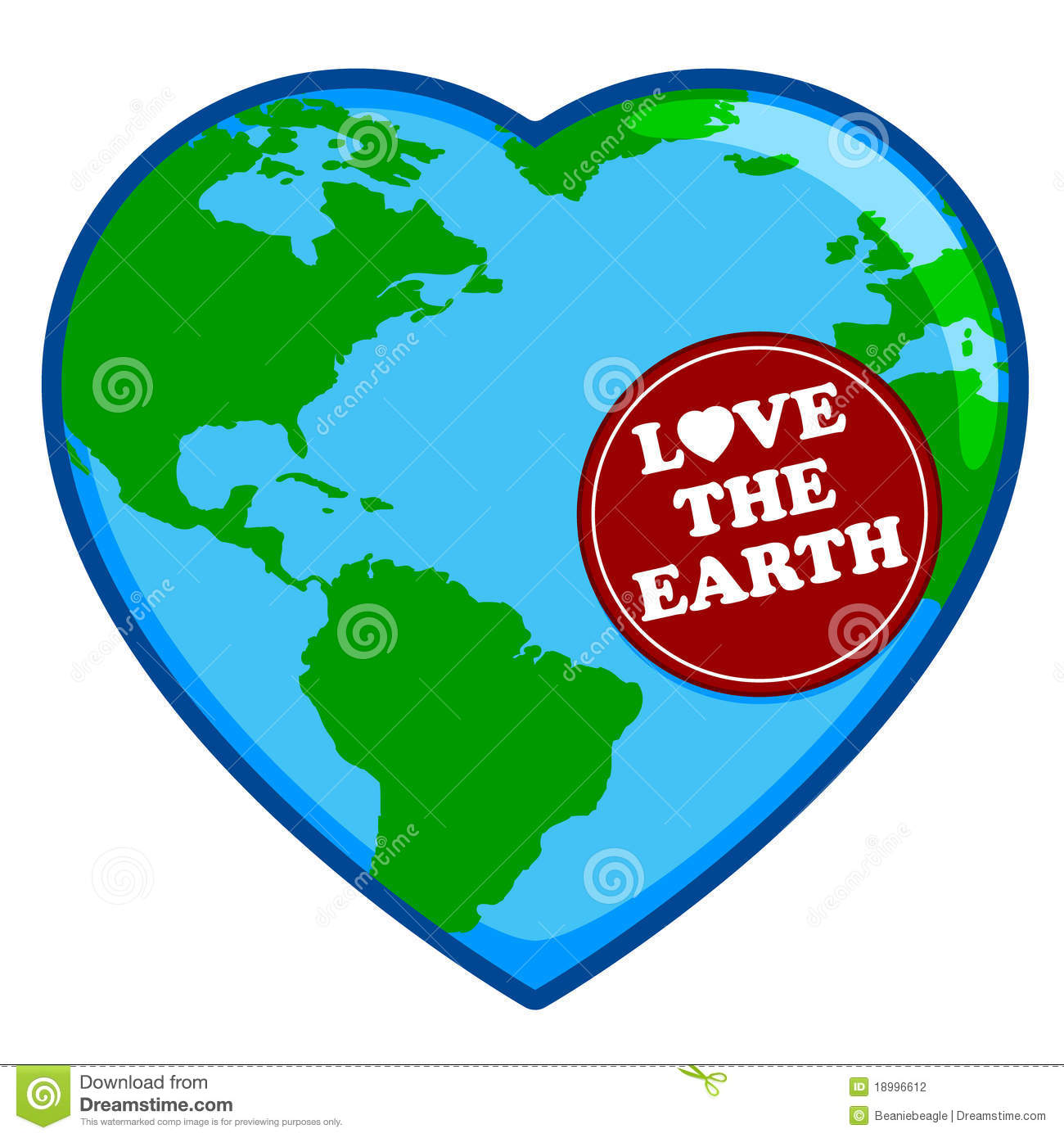 Heart Shaped Earth | Clipart Panda - Free Clipart Images