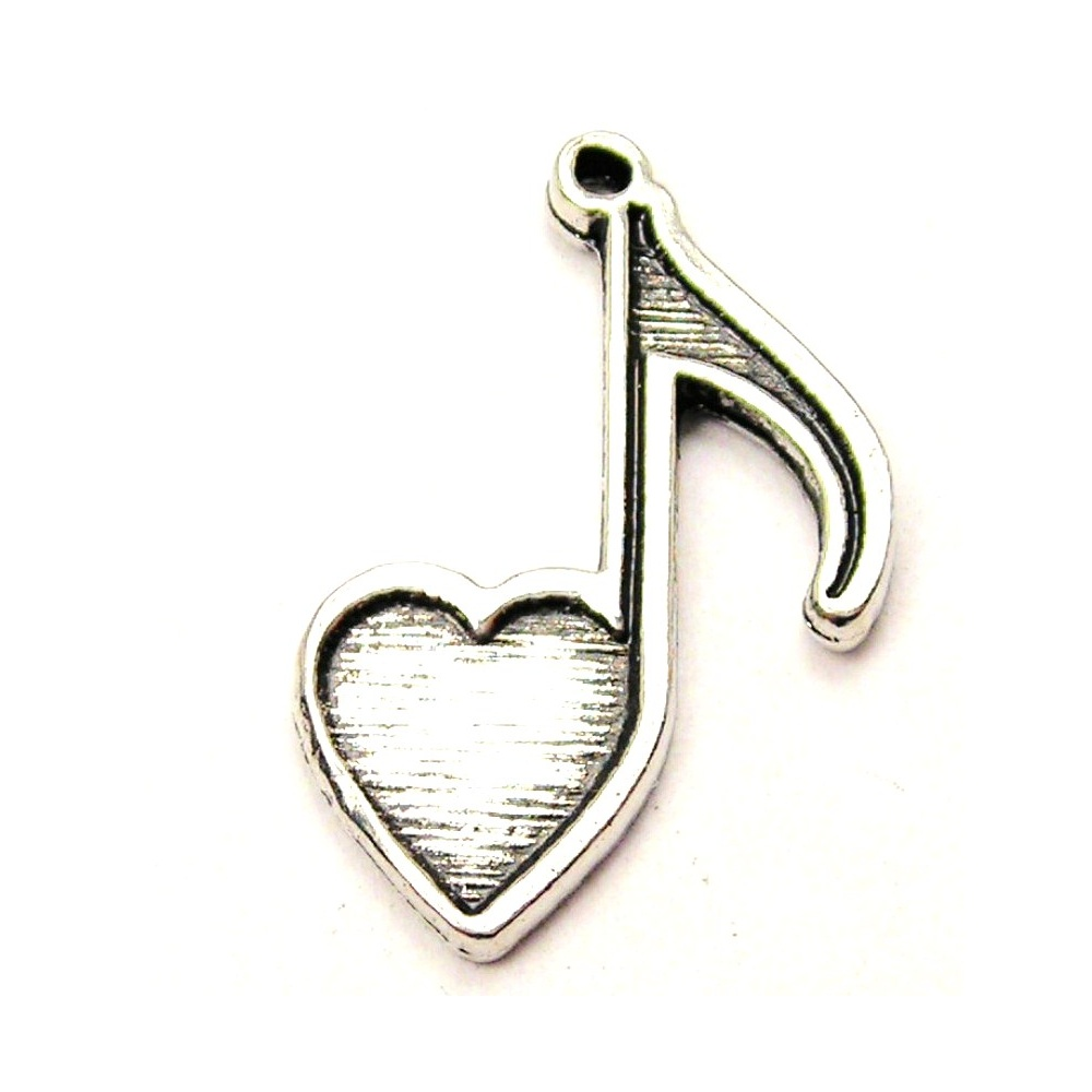 Heart Shaped Music Notes | Clipart Panda - Free Clipart Images