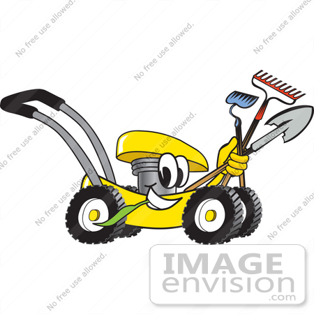 Landscaping clipart clipart panda free clipart images for Gardening tools cartoon