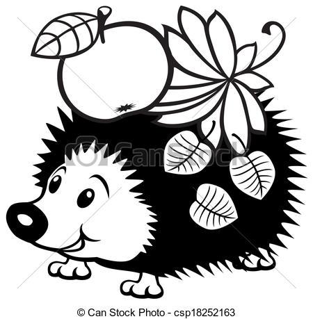 cartoon hedgehog clip art clipart panda free clipart images rh clipartpanda com