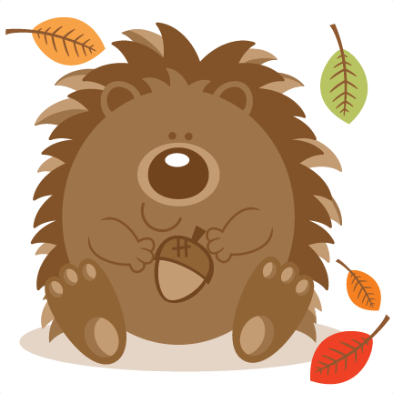 Image result for cute hedgehog clipart