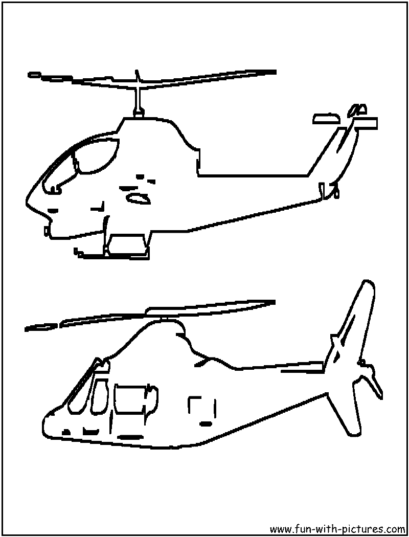 Police Helicopter Coloring Pages | Clipart Panda - Free Clipart Images