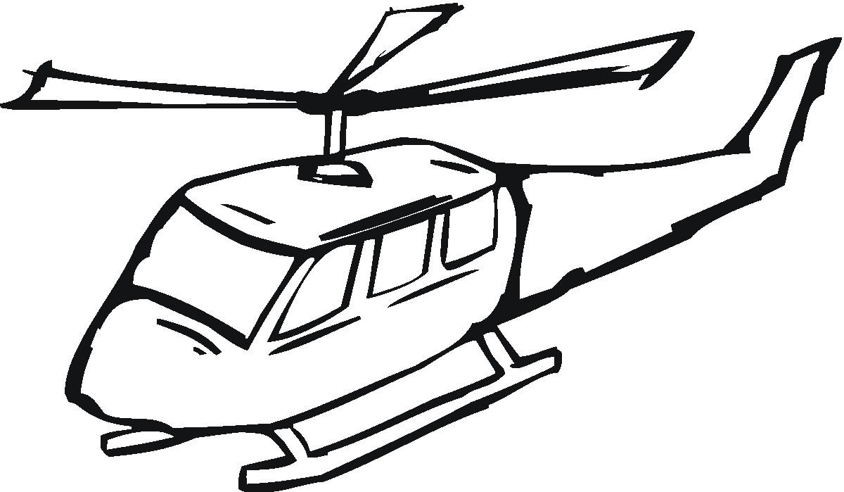 Free Coloring Pages Of Helicopter Ambulance