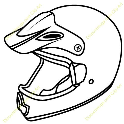 Bike Helmet Sketch Templates