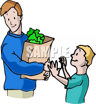 Boy Helping His Dad with the | Clipart Panda - Free Clipart Images