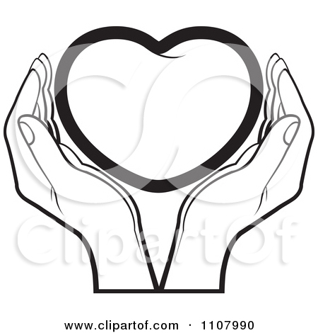Helping Hands Clipart Black And White | Clipart Panda ...