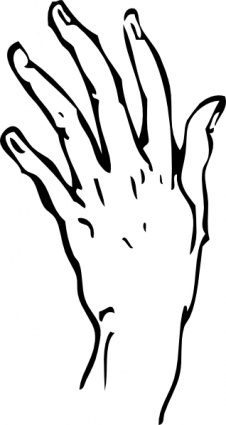 Helping Hand Clipart Black And White   Clipart Panda ...