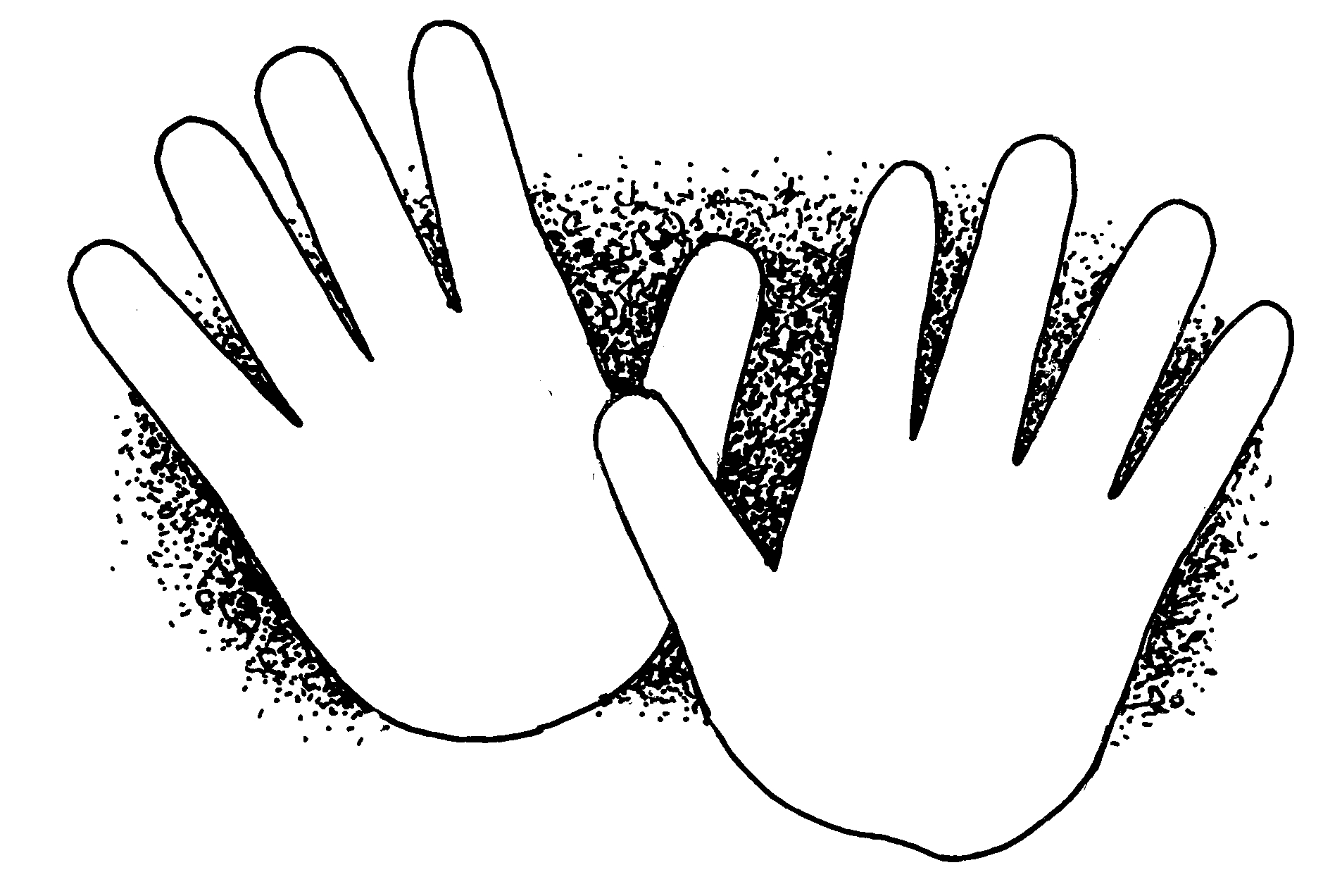 Child Hands Clipart