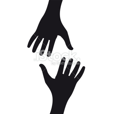 Helping Hand Outline Clip Art | Clipart Panda - Free ...