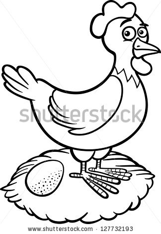 hen clipart black and white clipart panda free clipart images rh clipartpanda com little red hen clipart black and white Jet Black and White Clip Art