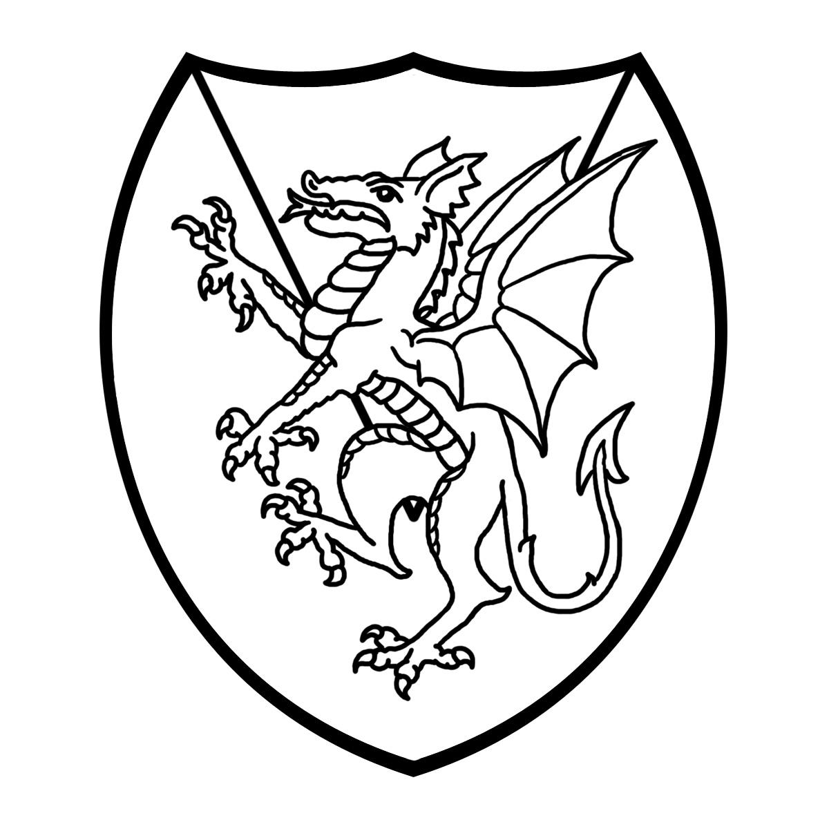 How to breed heraldic dragon - Heraldry Clipart