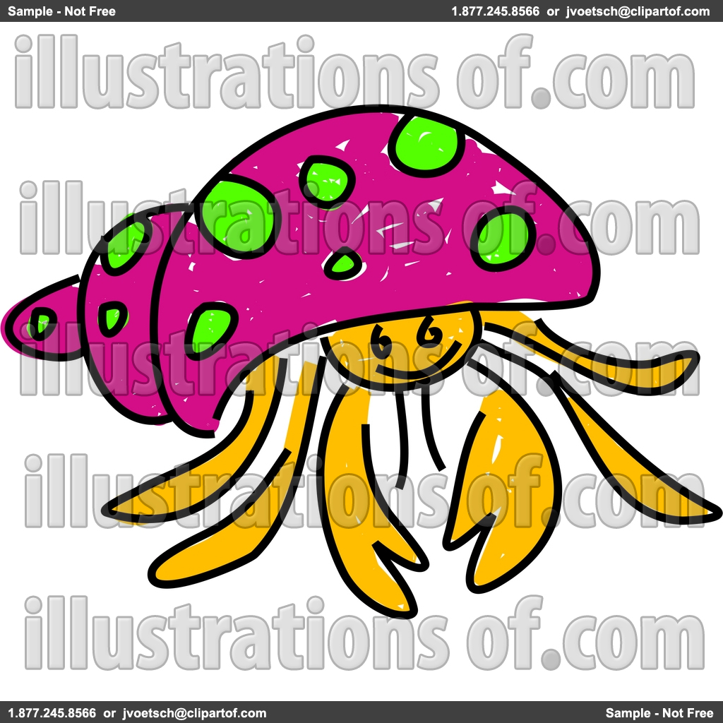 hermit%20crab%20clipart%20black%20and%20white