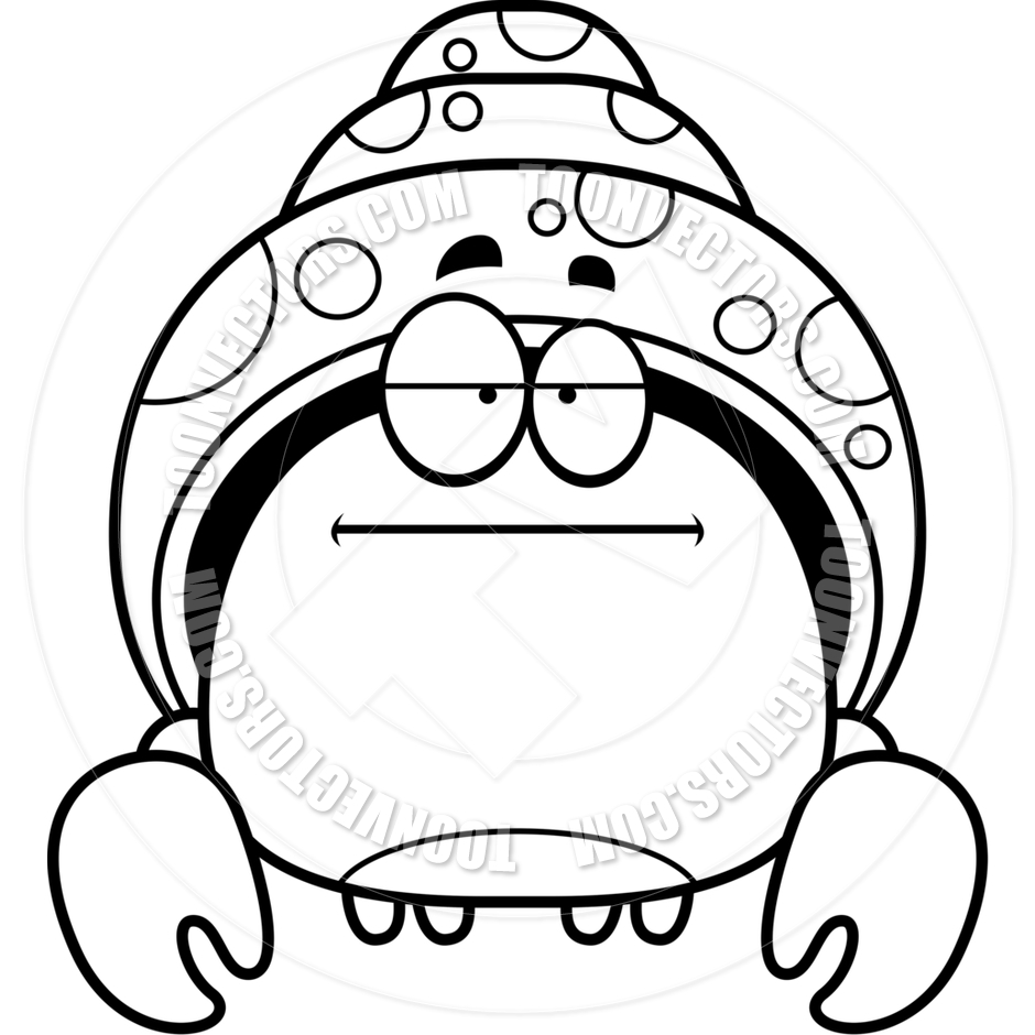 Hermit Crab Coloring Page | Clipart Panda - Free Clipart Images