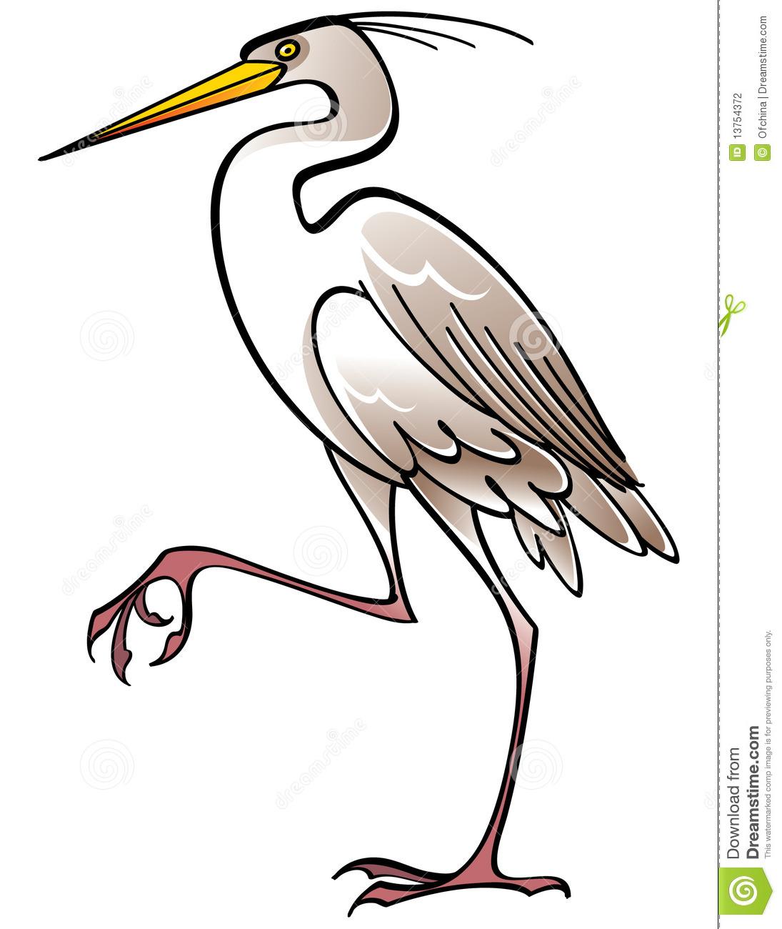white heron essays